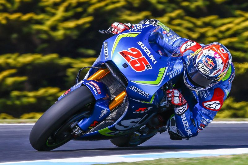 2016 Maverick Vinales action