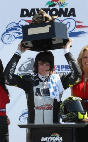Joey_Pascarella_Daytona200_2012_podium