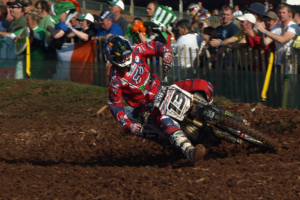 Billy Mackenzie GB Red Bull FIM Motocross of Nations 2008